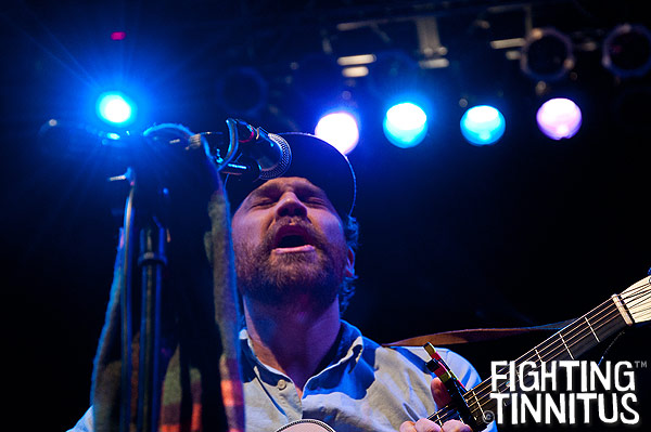Scott Hutchison of Frightened Rabbit at the House of Blues, Boston