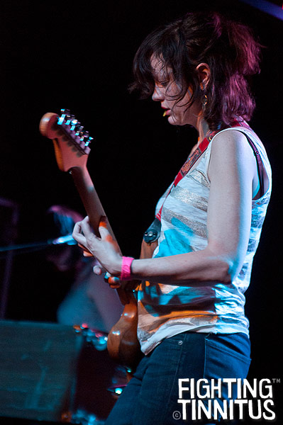 Mary Timony of Wild Flag at the Brighton Music Hall, Boston