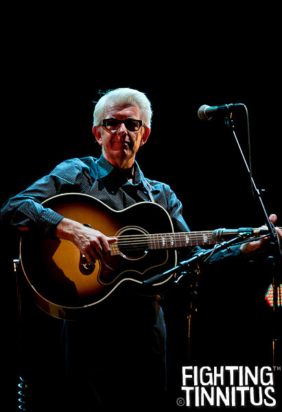 Nick Lowe at the Wang Theatre, Boston