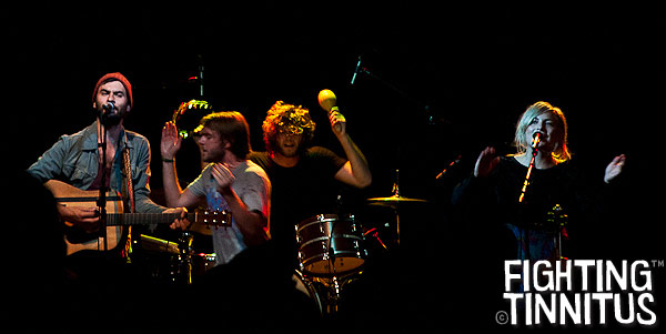 The Head and the Heart at Royale, Boston